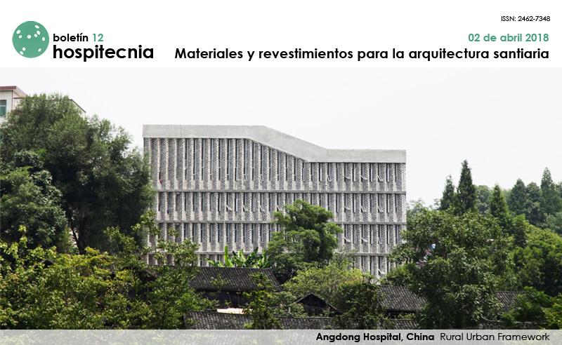 MATERIALES Y REVESTIMIENTOS PARA LA ARQUITECTURA SANITARIA