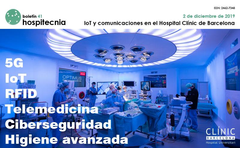 IoT Y COMUNICACIONES EN EL HOSPITAL CLÍNIC DE BARCELONA