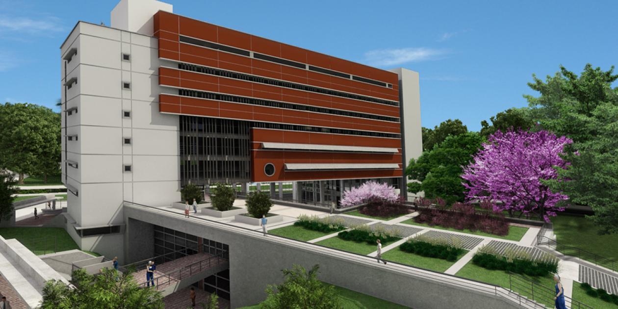 Edificio de investigación anexo MCAN