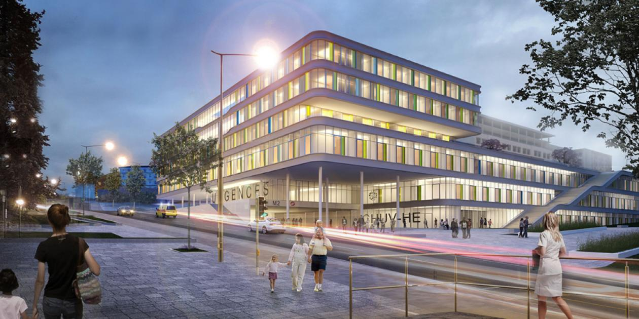 Concurso Hospital para niños en Lausanne