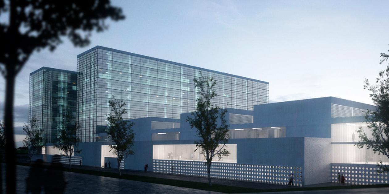 Concurso nuevo Hospital Universitario de Palencia (1r premio)