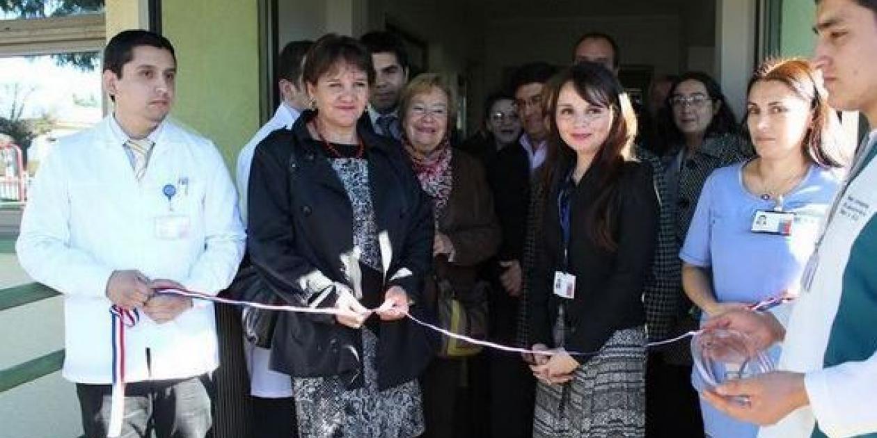 Hospital en Huépil (Chile) inauguró nuevo laboratorio clínico