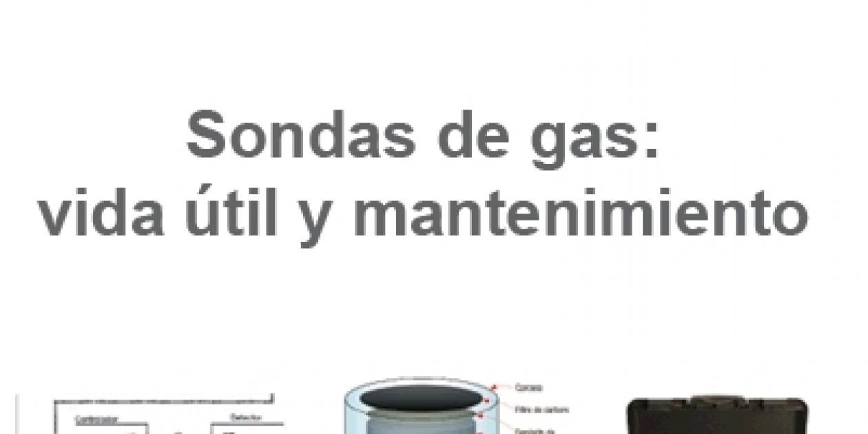NOTIFIER by Honeywell - Sondas de gas: vida útil y mantenimiento