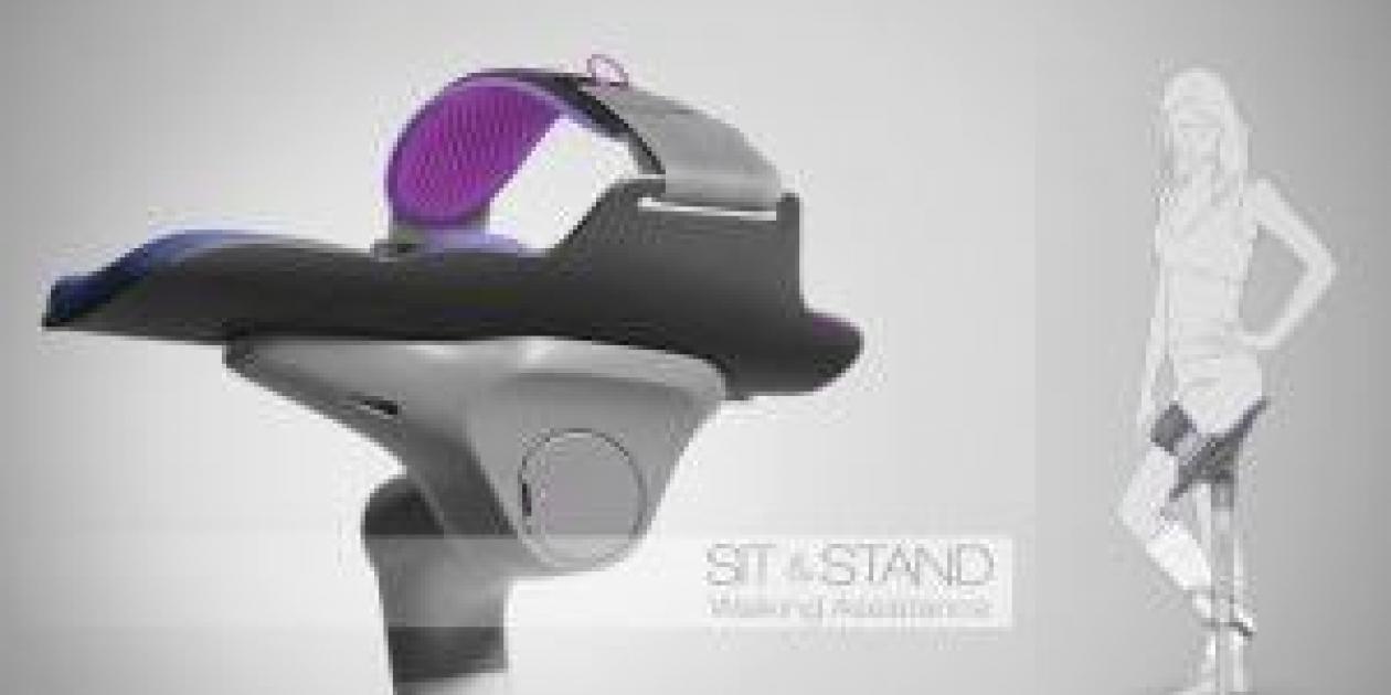 Sit & Stand,  un dispositivo que reinventa por completo las muletas