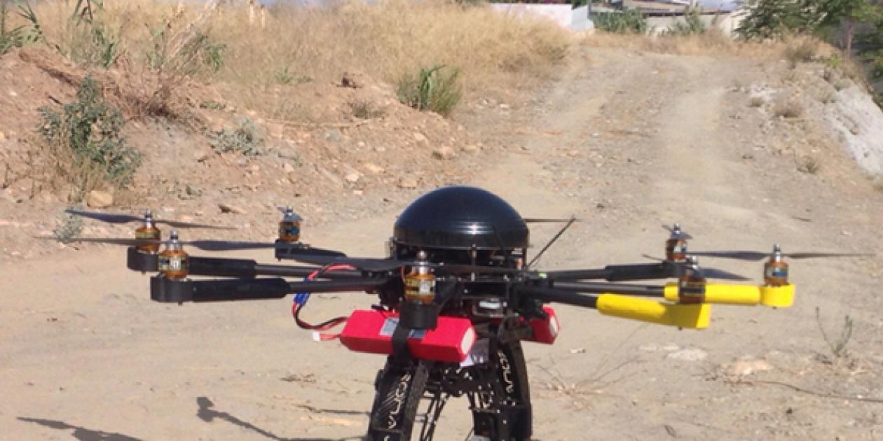 Drones para la construcción del nuevo hospital de Granada