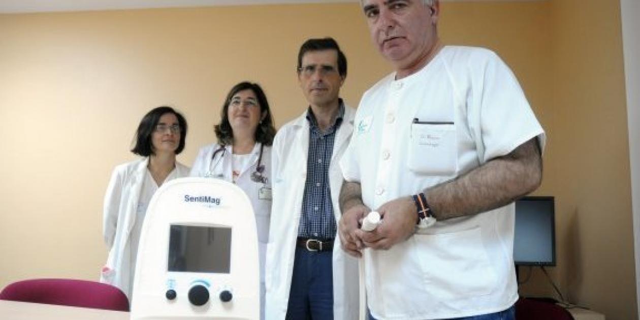 El hospital de Mérida comienza a utilizar la localización magnética para detectar el cáncer de mama