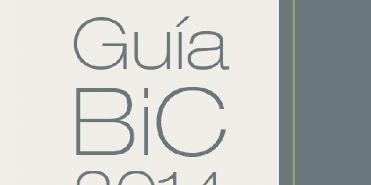 Guía premios BIC 2014