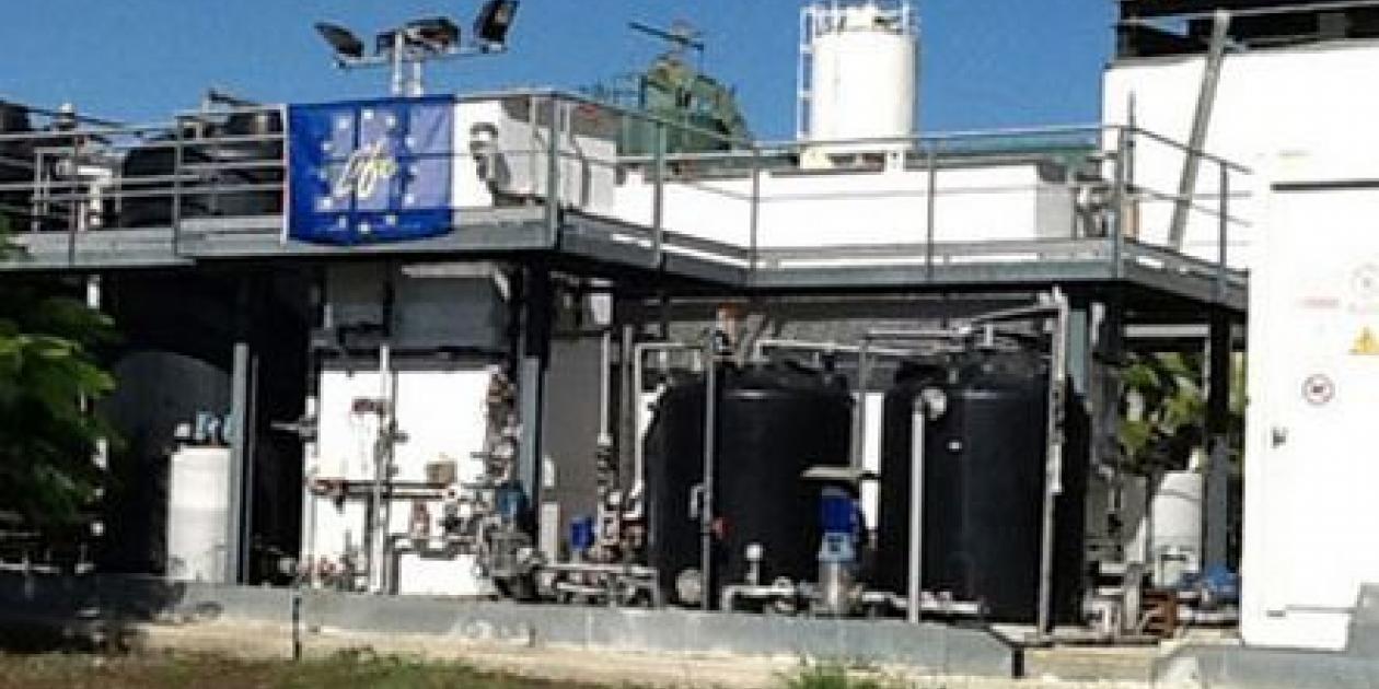 Acciona lidera un proyecto de eliminación de residuos del agua