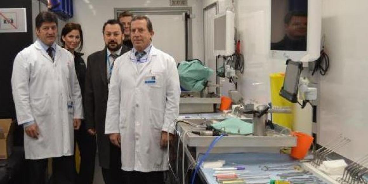Hospital Sanitas CIMA de Barcelona acoge el primer laboratorio móvil de habilidades quirúrgicas