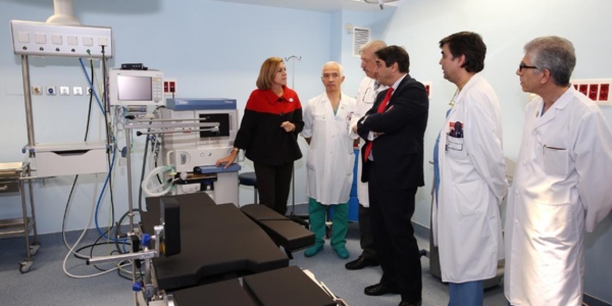 El nuevo quirófano del Hospital Virgen de la Luz de Cuenca ha comenzado a funcionar esta semana