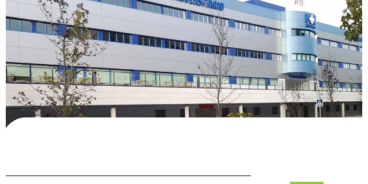 Tecnología LED en el Hospital Universitario Puerta del Sur de Móstoles