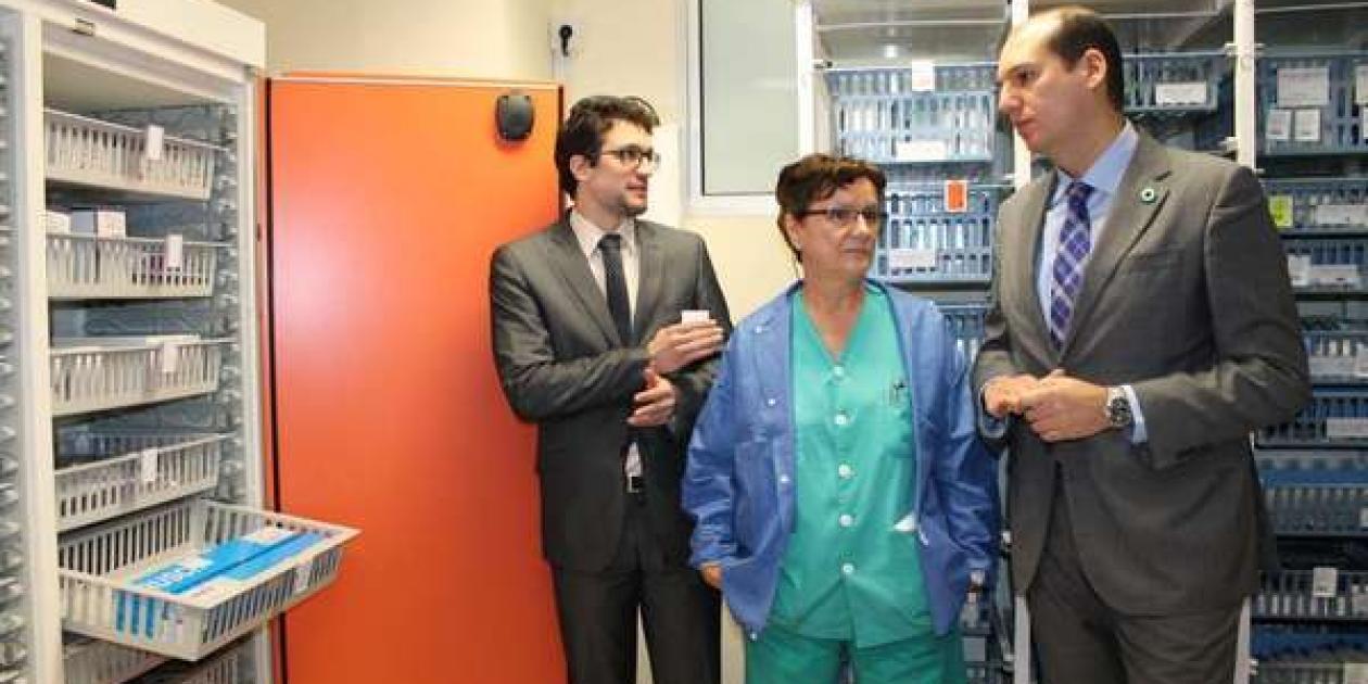 """PALEX implanta un armario """"inteligente"""" en el Hospital Infanta Cristina de Badajoz"""