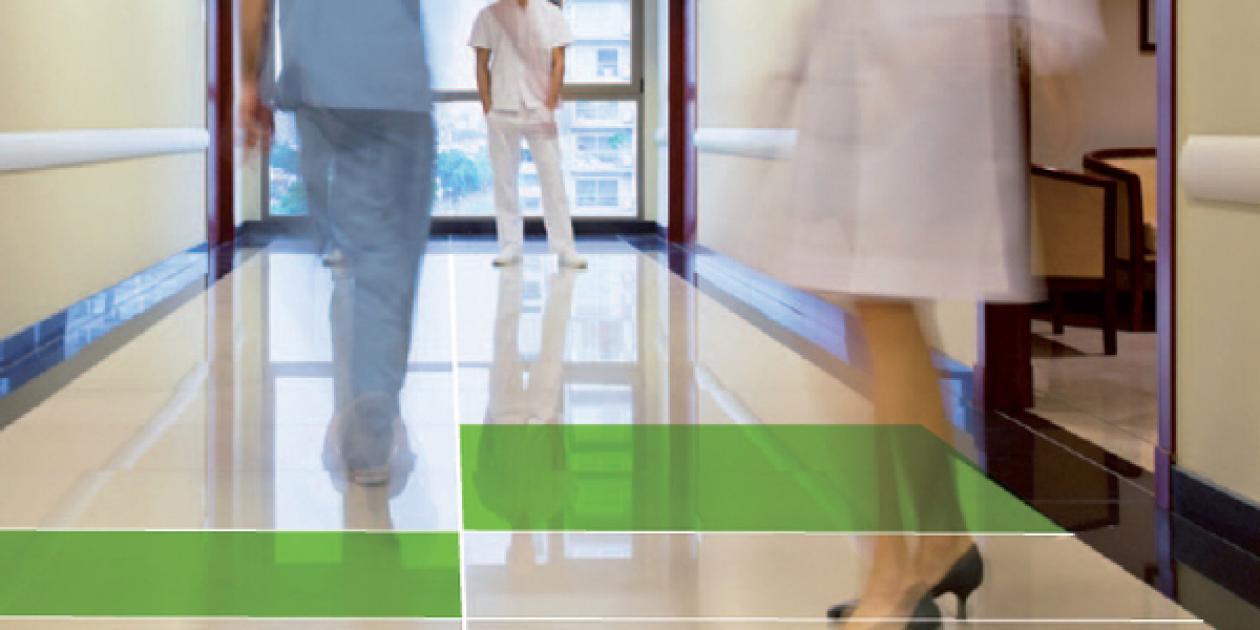 Pavimentos saludables y sostenibles - Selección de un pavimento resiliente para el sector sanitario europeo