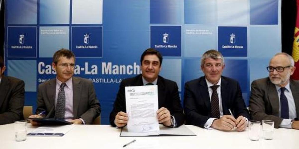 El SESCAM ha rubricado el contrato de concesión de obras del Complejo Hospitalario de Toledo