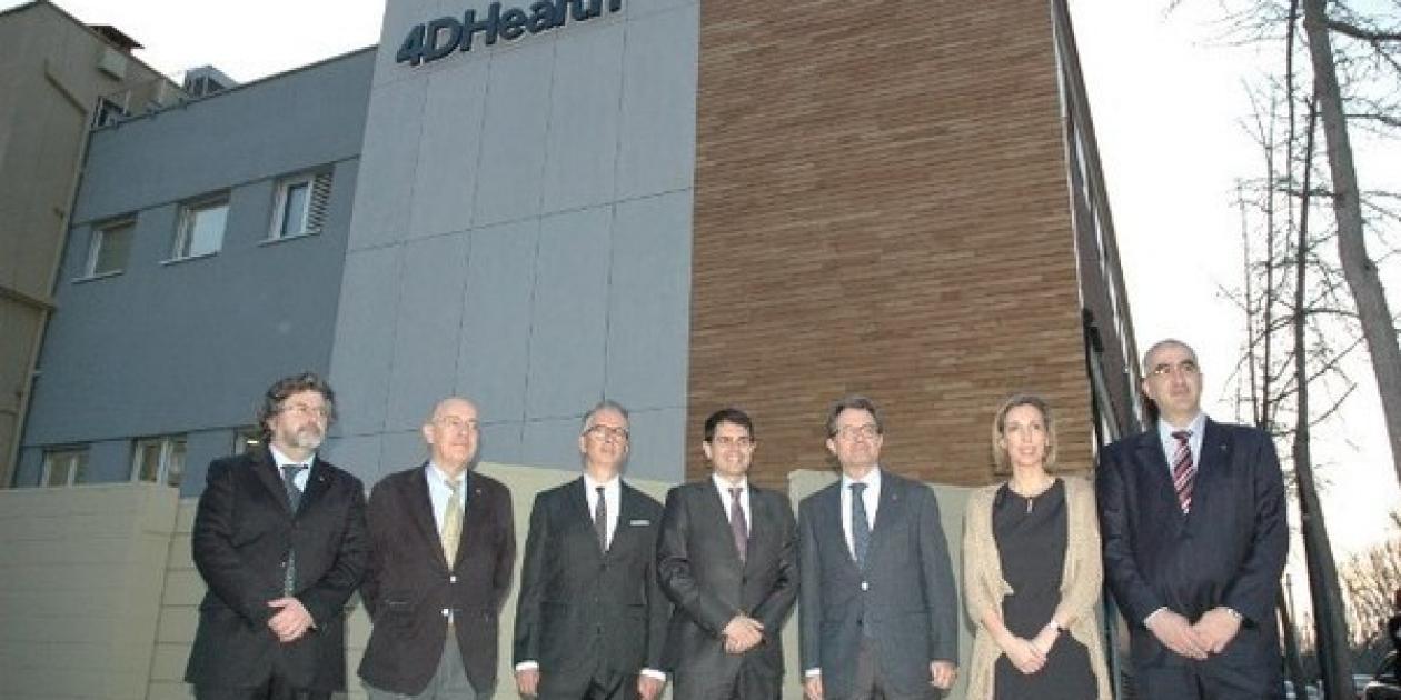 El Presidente Artur Mas inaugura el 4DHealth