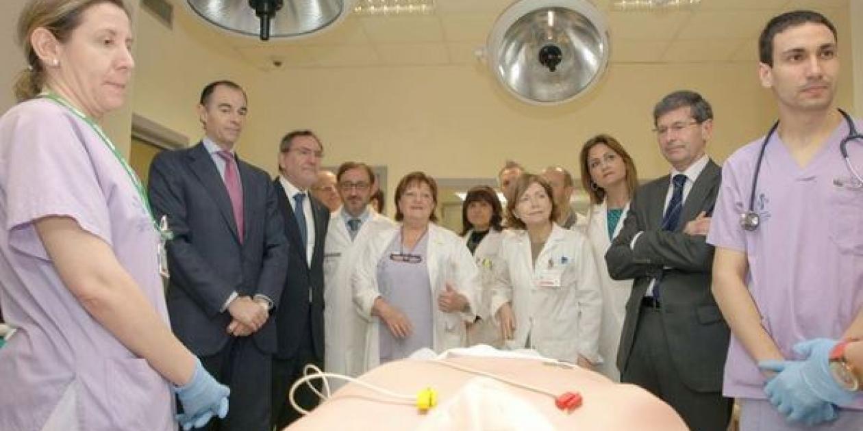 Sanitat invierte 540.000 euros en el edificio docente del General de Castelló que tendrá un simulador de paciente