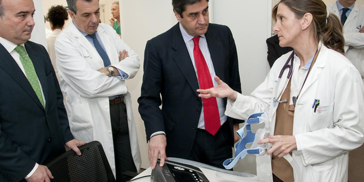 Linde Healthcare inaugura un centro CAIDER de atención integral a pacientes con patologías respiratorias en Guadalajara