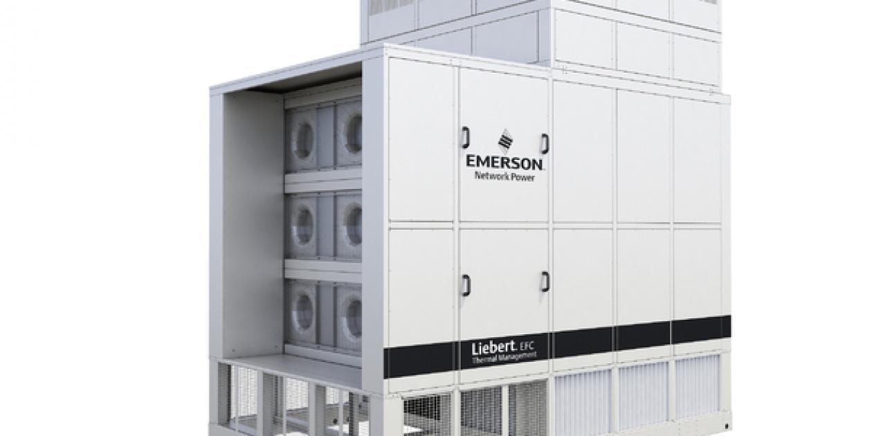 Emerson Network Power amplía su innovadora familia de productos de refrigeración evaporativa con freecooling indirecto de aire: Liebert® EFC