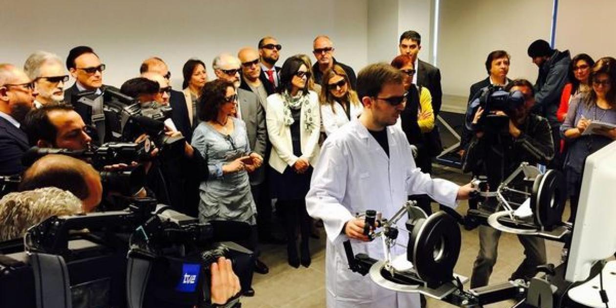 TECNALIA desarrolla el primer robot quirúrgico con visión 3d y sensaciones táctiles del estado