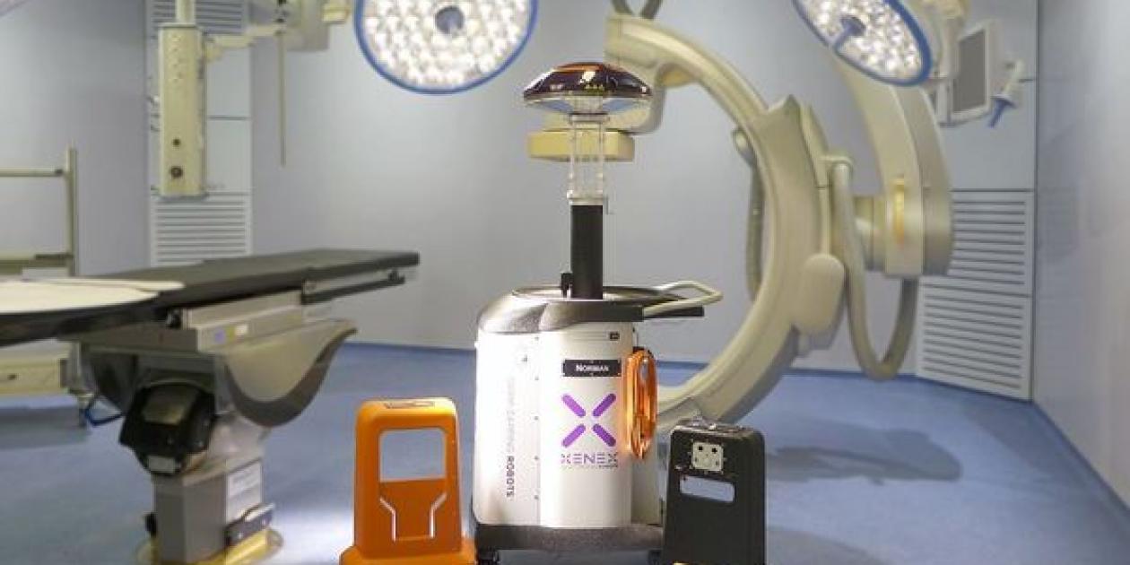 Hospital Vall d`Hebron incorpora un robot que desinfecta con luz ultravioleta