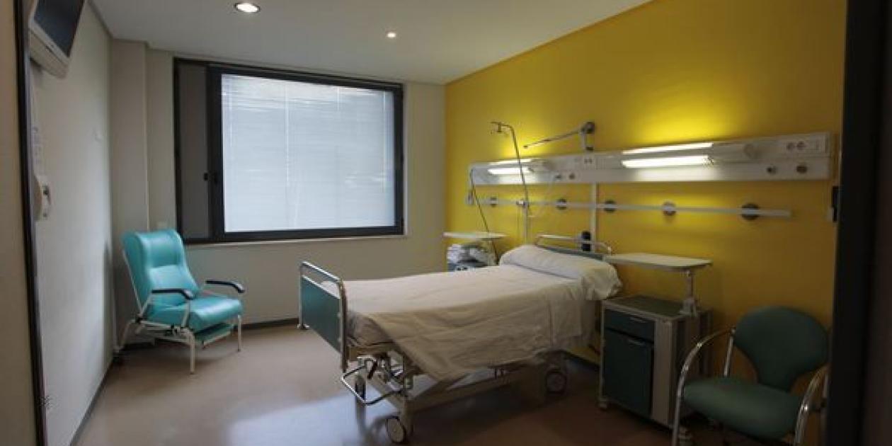 La mitad de las habitaciones del Hospital de Calahorra dejan de ser compartidas y pasan a ser individuales