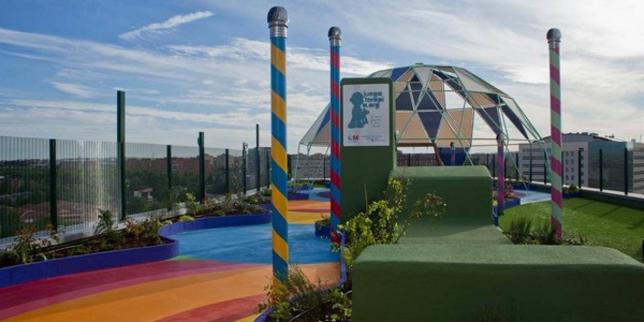La Fundación Juegaterapia inaugura su segundo 'Jardín de mi Hospi' en el Hospital 12 de Octubre