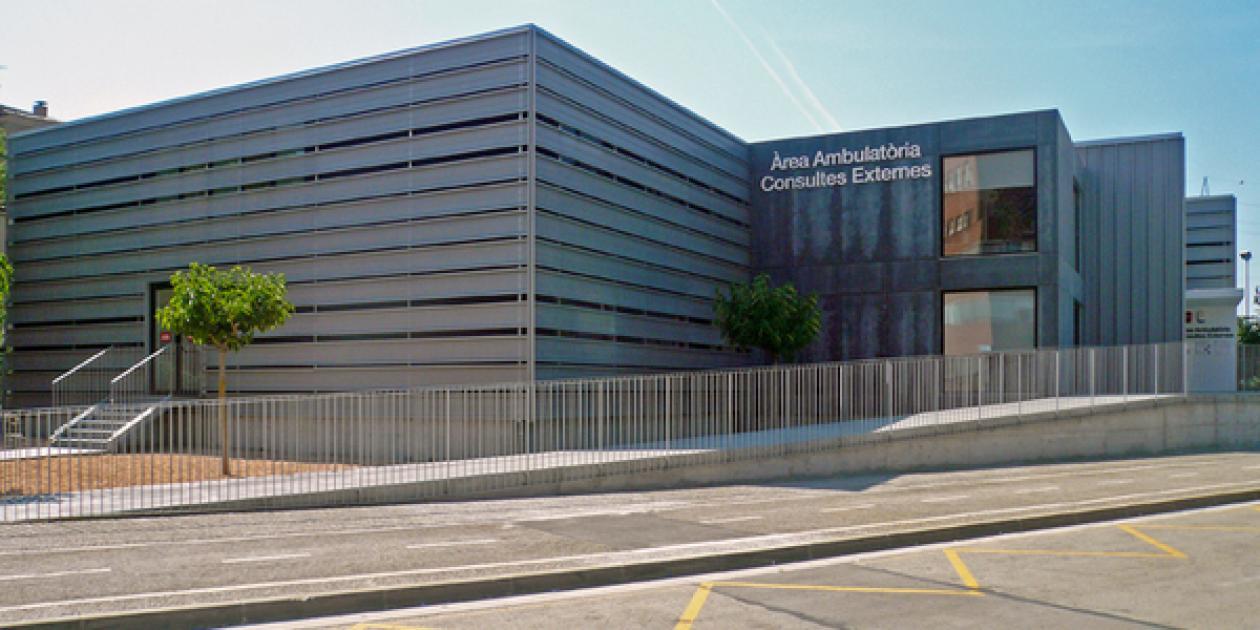 Edificio de consultas externas anexo al Hospital Doctor Josep Trueta
