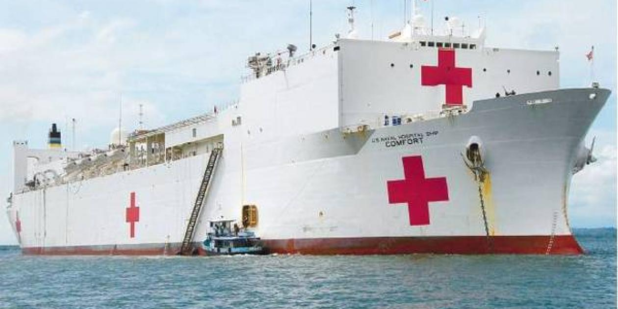 Más de 110 cirugías realizará el buque hospital Comfort en Buenaventura