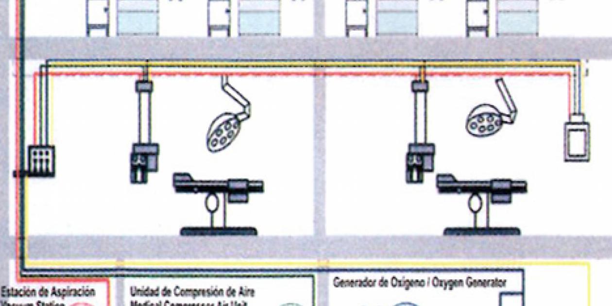La instalación de gases medicinales del hospital desde el punto de vista del gestor de mantenimiento