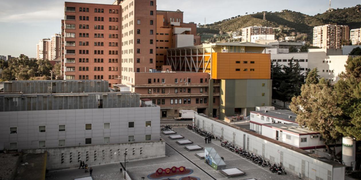 Bloque quirúrgico Hospital de la Vall d'Hebron.