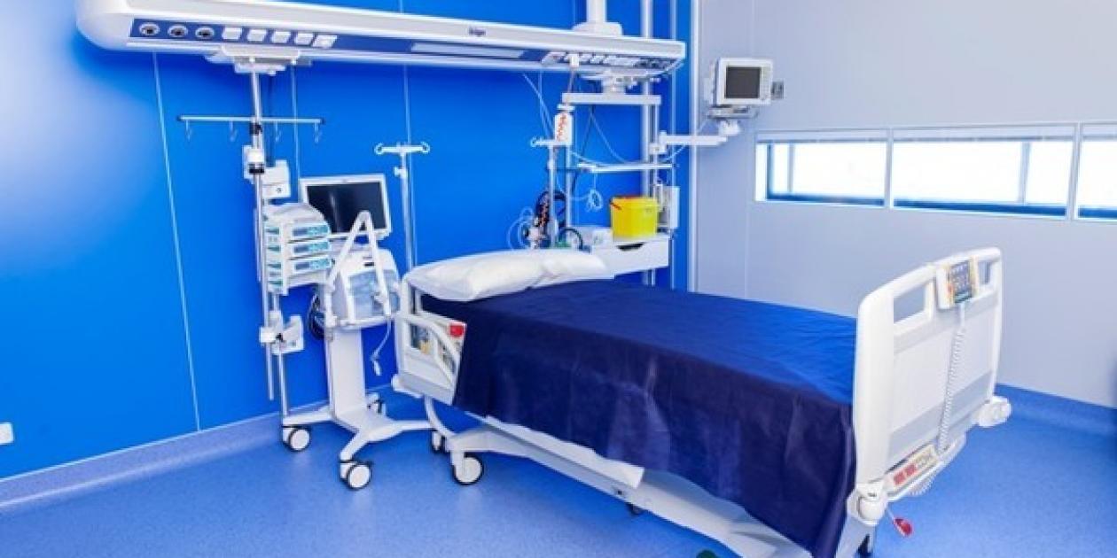 Unidad de aislamiento alto nivel y seguridad biológica. Hospital Gómez Ulla