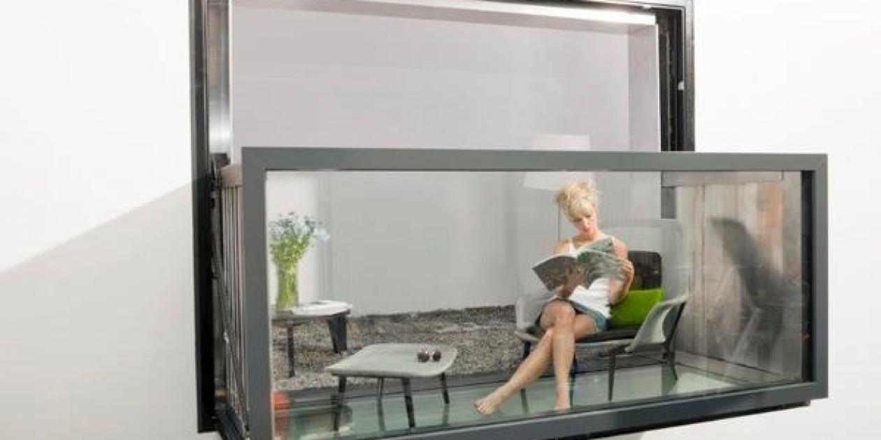Bloomframe®,    la ventana que se hace balcón de KAWNEER ya disponible en el mercado.