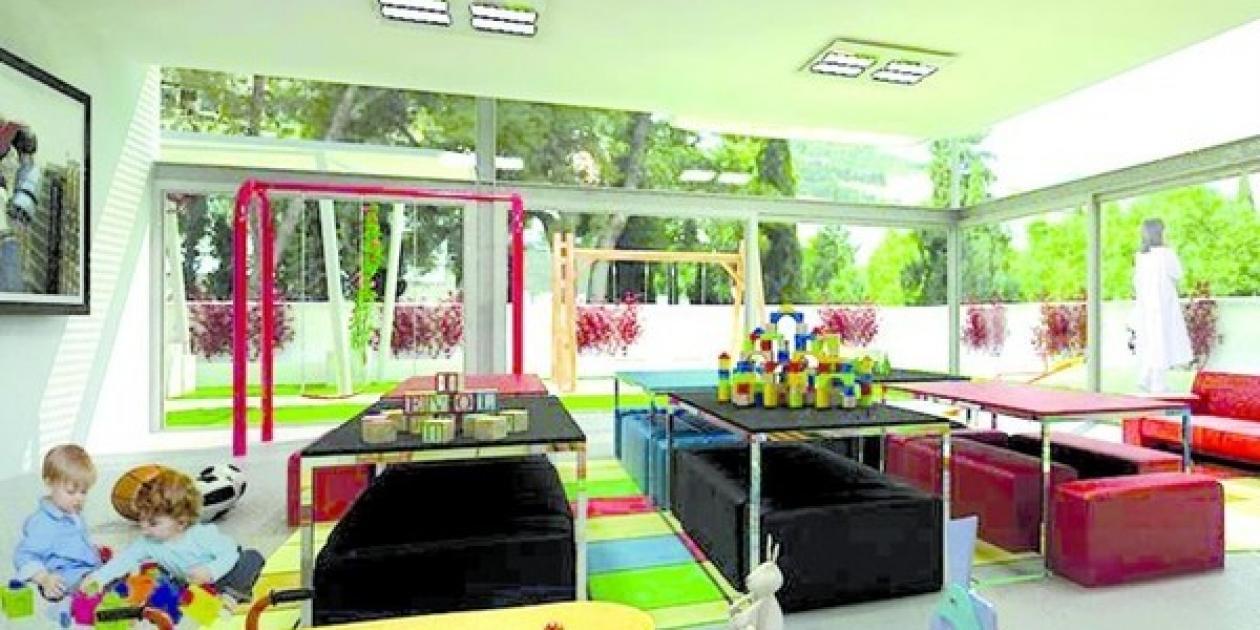 """El """"Jardín de los sueños"""",   nuevo espacio infantil de los centros Médico-Quirúrgico y Materno-Infantil del Complejo Hospitalario de Jaén"""