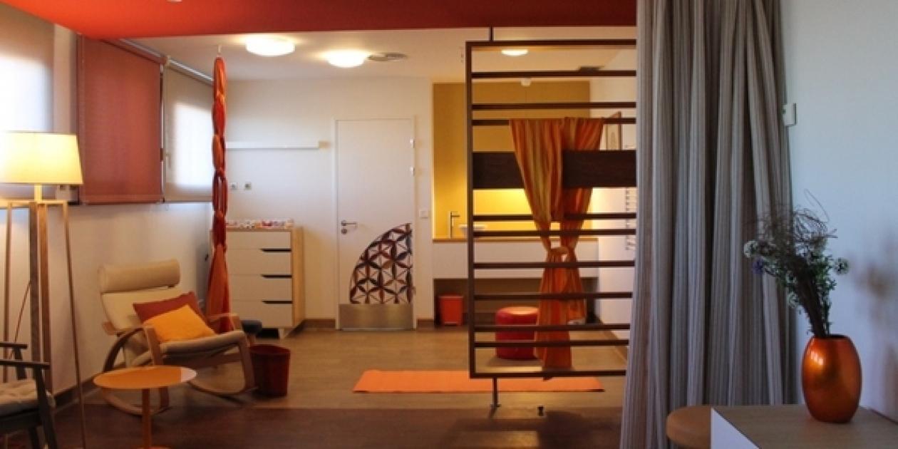 Habitación de parto integral (UTPR) en el Hospital Universitario de Getafe,     Madrid