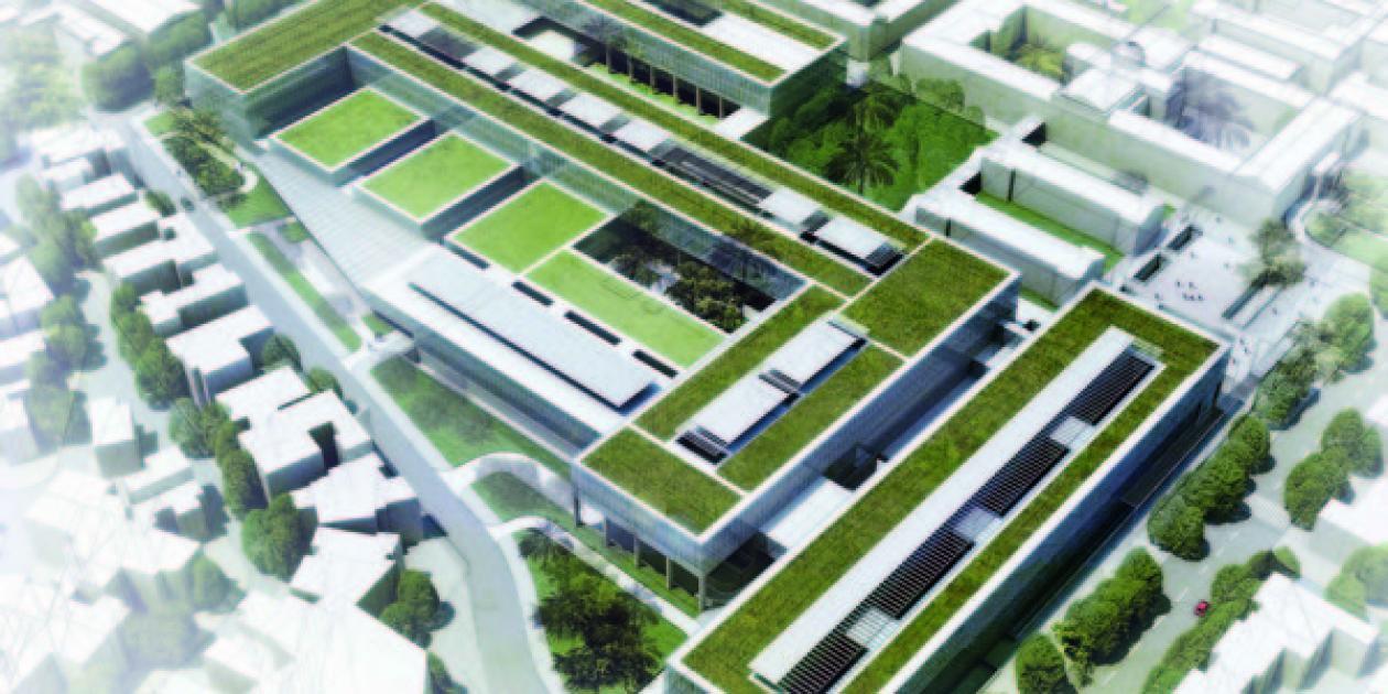 Anteproyectos Hospital Salvador e Instituto Nacional de Geriatría