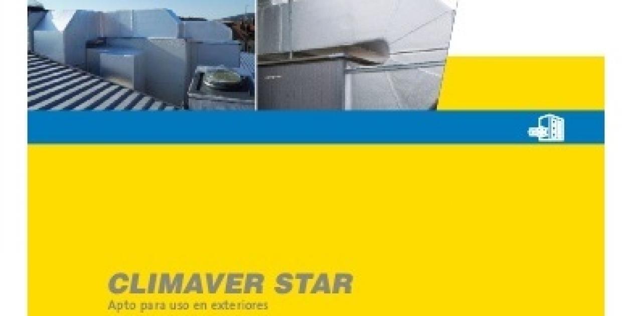 Isover presenta Climaver Star,  apto para uso en exteriores.