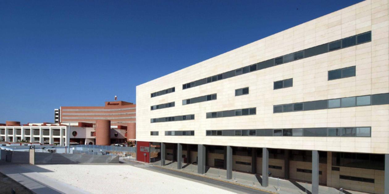 Hospital Materno Infantil Virgen de la Arrixaca,              Murcia.