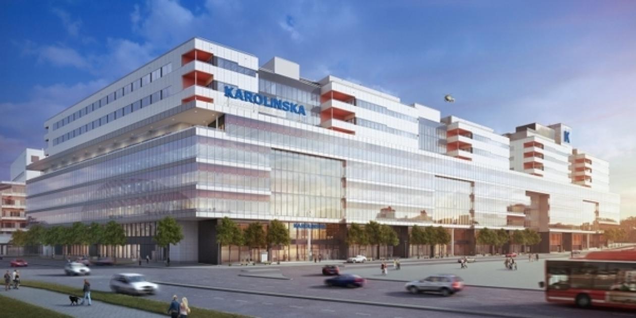 Transporte,   comunicaciones y logística en el Nuevo Hospital Karolinska.