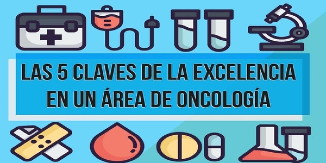 Las 5 claves de la excelencia en un área de oncología