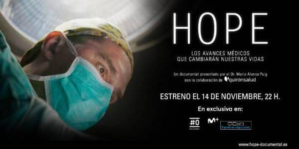 HOPE: Los avances médicos que cambiarán nuestra vida