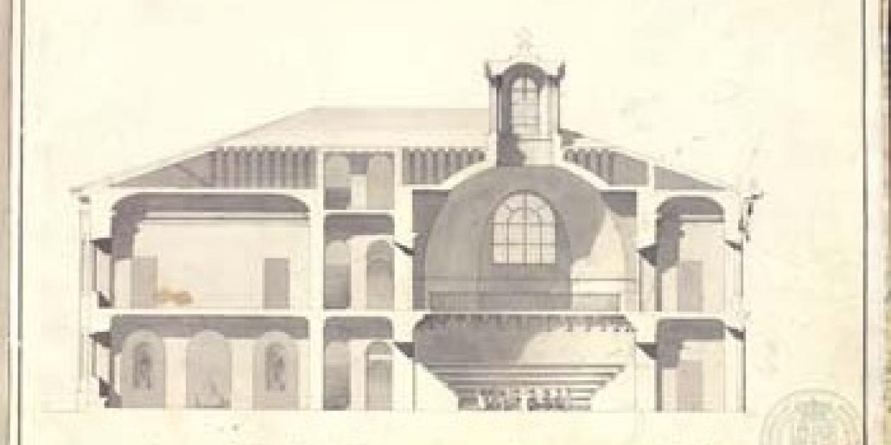 Ventura Rodríguez Tizón y el Real Colegio de Cirugía de Barcelona,  1761-1764