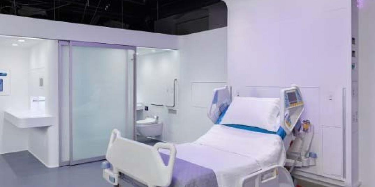La habitación del hospital del futuro