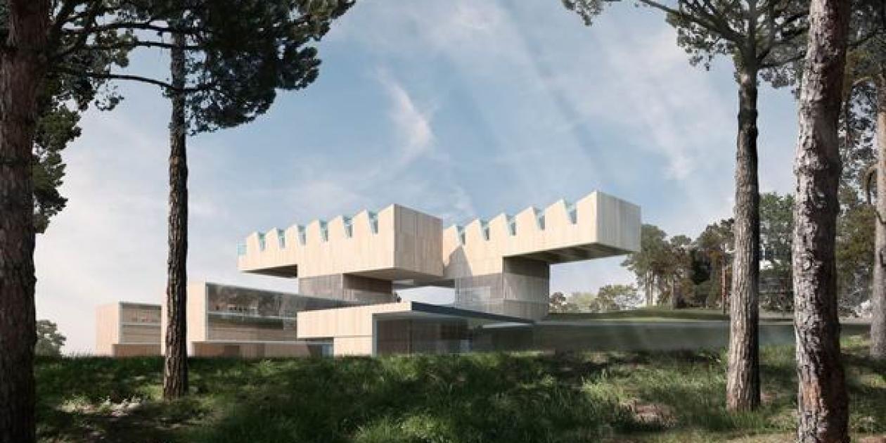 Propuesta Finalista de Reordenación del Campus Vall d'Hebrón. Josep Llinàs - Casa Solo