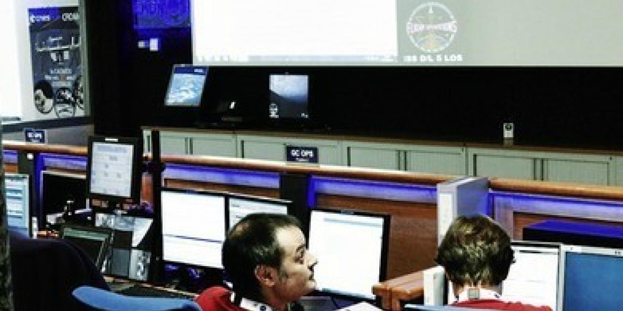Un ecógrafo conectado con la Tierra estudia la salud en el espacio