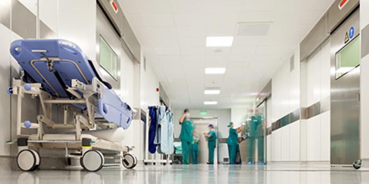 Suelos de hospitales: Cuando la tranquilidad importa
