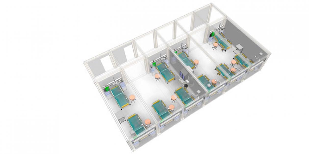 ¿Cómo aumentar la capacidad de camas para abordar el COVID-19?