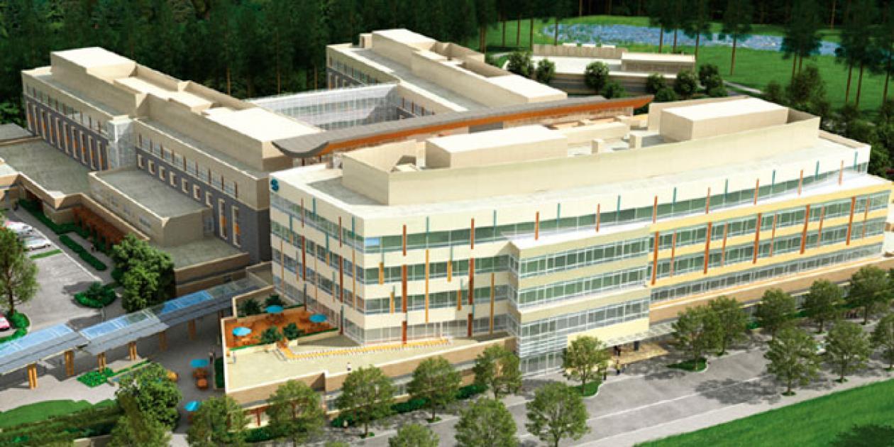 Guía para el ahorro de energía a través del diseño para grandes hospitales