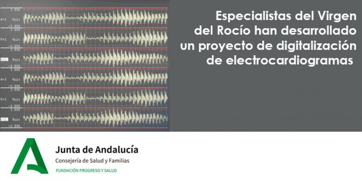 Especialistas del Virgen del Rocío han desarrollado un proyecto de digitalización de electrocardiogramas