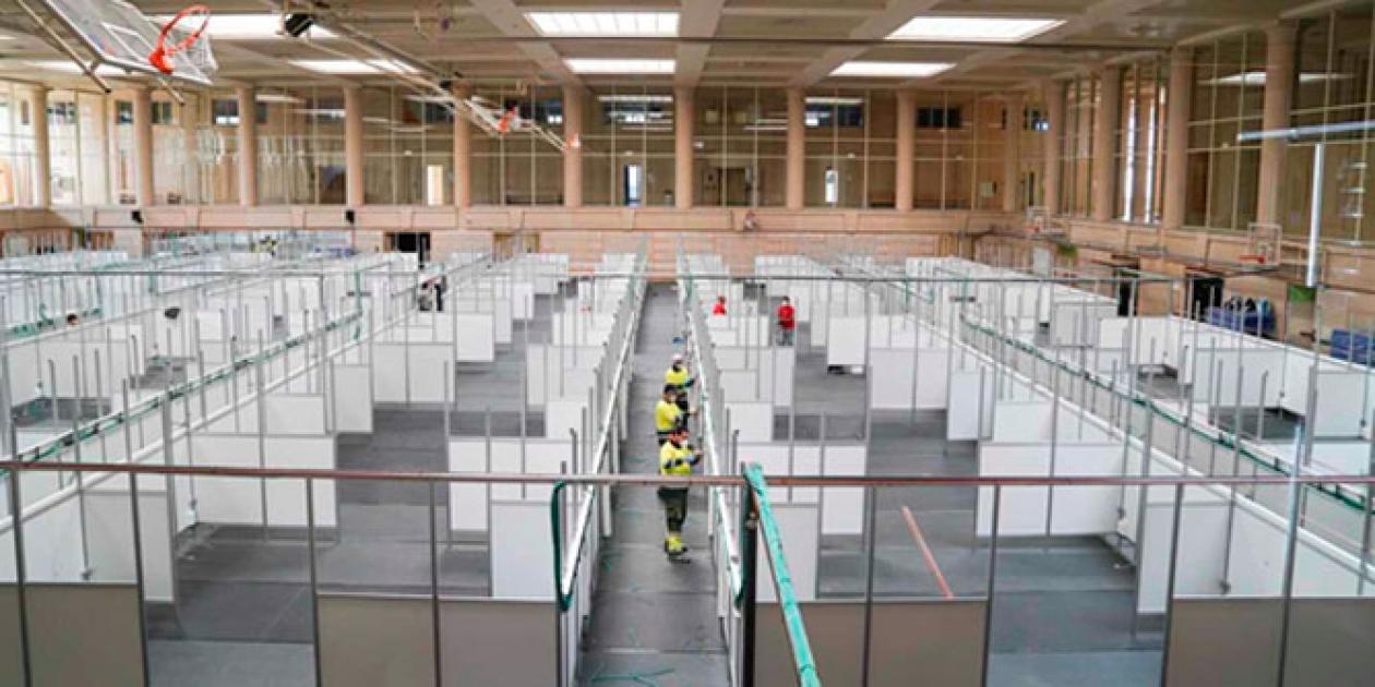 Italsan suministra tuberías en las nuevas instalaciones hospitalarias con motivo del Covid-19