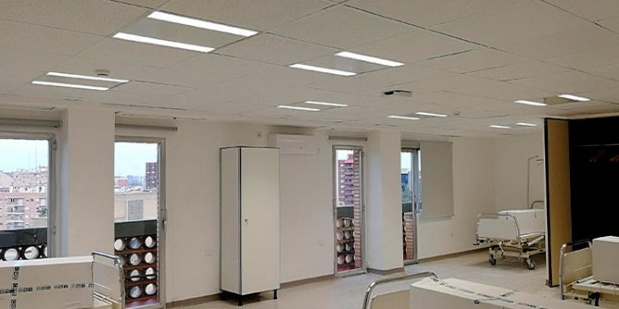 Signify dona luminarias a los hospitales de Madrid y Valencia